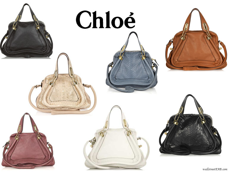 Bag of the Year: The Chloe Paraty Handbag | Wall Street FAB
